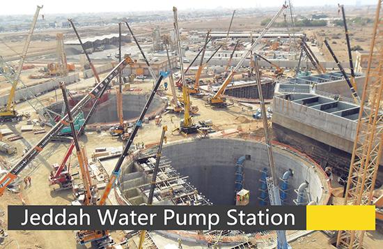 Jeddah Water Pump Station , Saudi Arabia