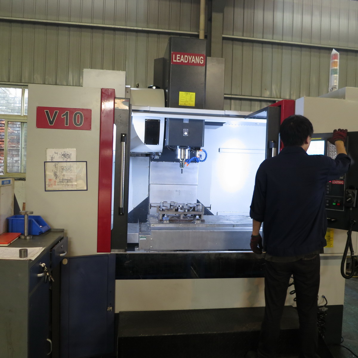 9 Our Core equipment--Machine Center(V10)