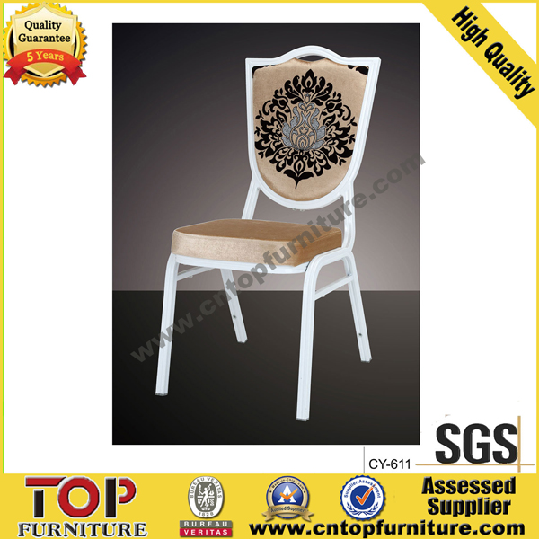 Classy Stacking Aluminum comfortable Hotel Banquet Chair