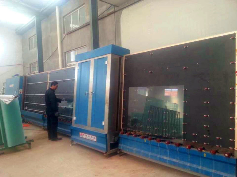 Insulated glass product line