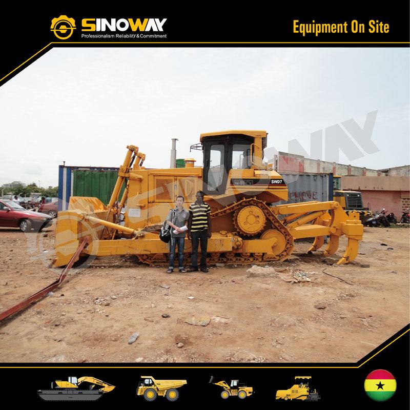 Sinoway Bulldozer in West Africa
