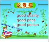 Good quality and Good price