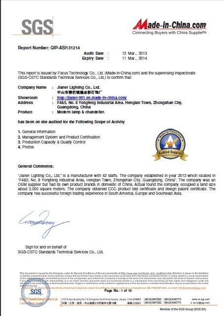 SGS Certificate-1
