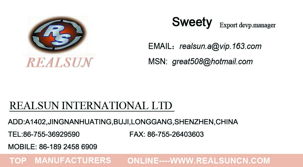 Export Manager--Sweety