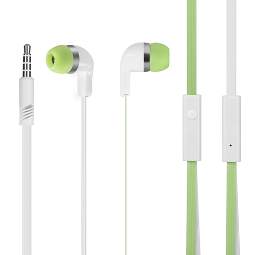 Noodle headphones