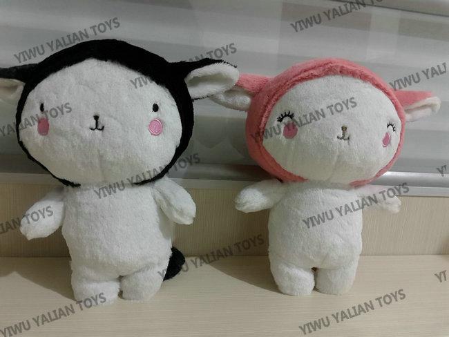 custom animal soft toy samples