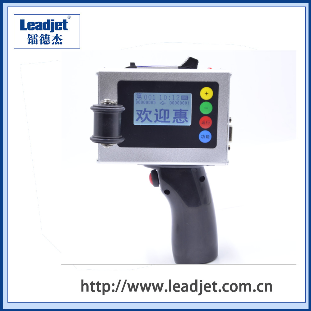 S100 protable handheld inkjet date coding machine