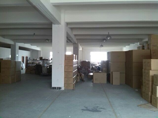corner of warehouse