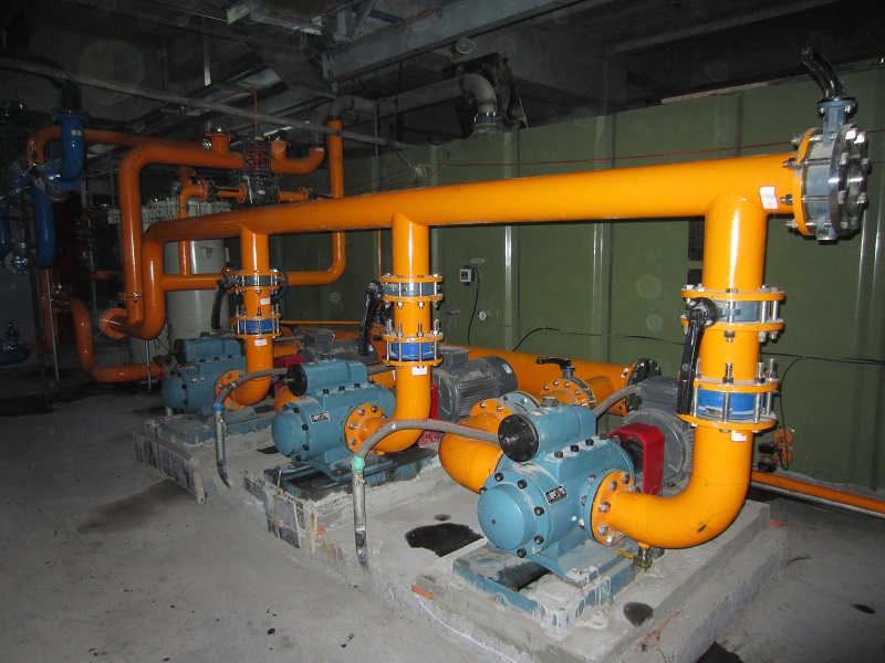 RSP Three-Screw Pump for Steel Plants