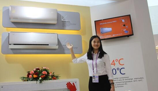 Professional Exhibition of Air Conditioner