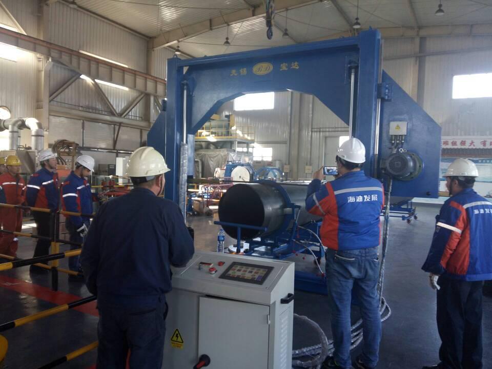 BSCJ Series Multi-angle cutting machine in CNOOC