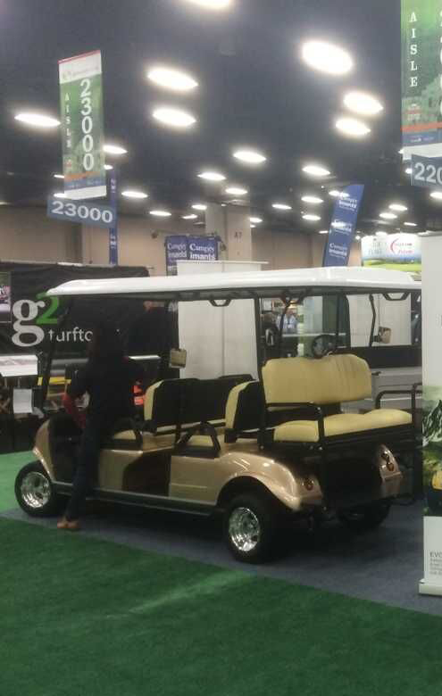 2015 Golf industry Show