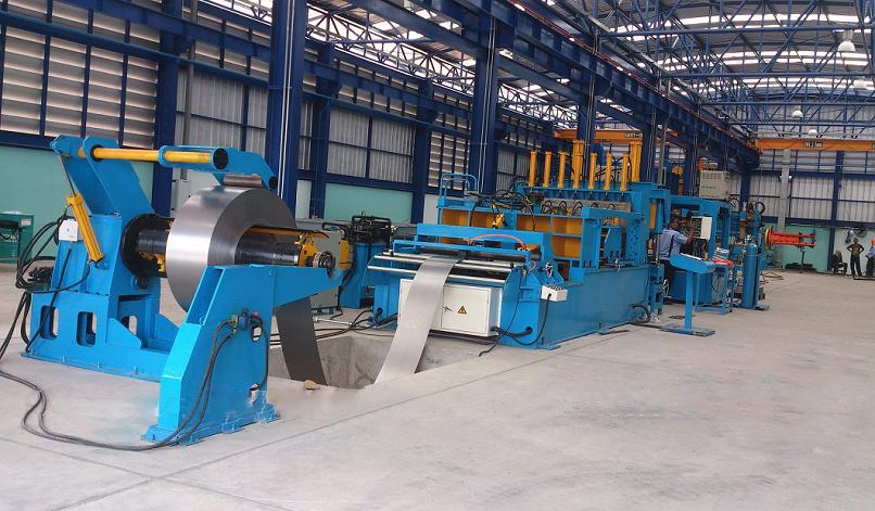 transformer corrugation fin production line fin folding &auto welding