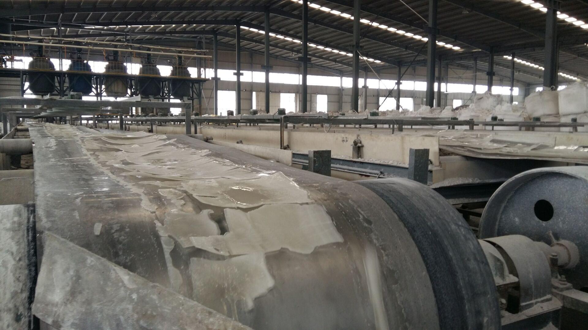 Aluminium sulphate production line
