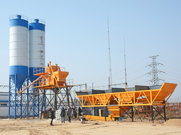 Reason for the difference price of Concrete Mixing Plant