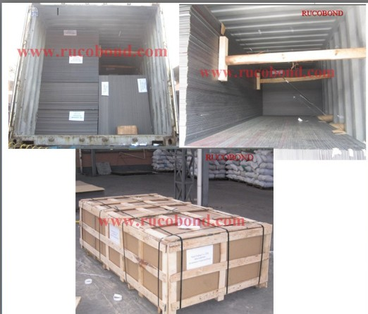 RUCOBOND Aluminum composite panel ACP ACM Packing