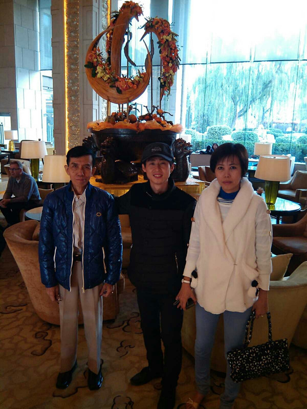 Myanmar customers signed the order with us in Beijing.