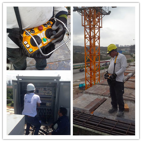 concrete pump joystick remote controller
