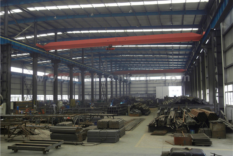 workshop No.3-secondary steel structure production