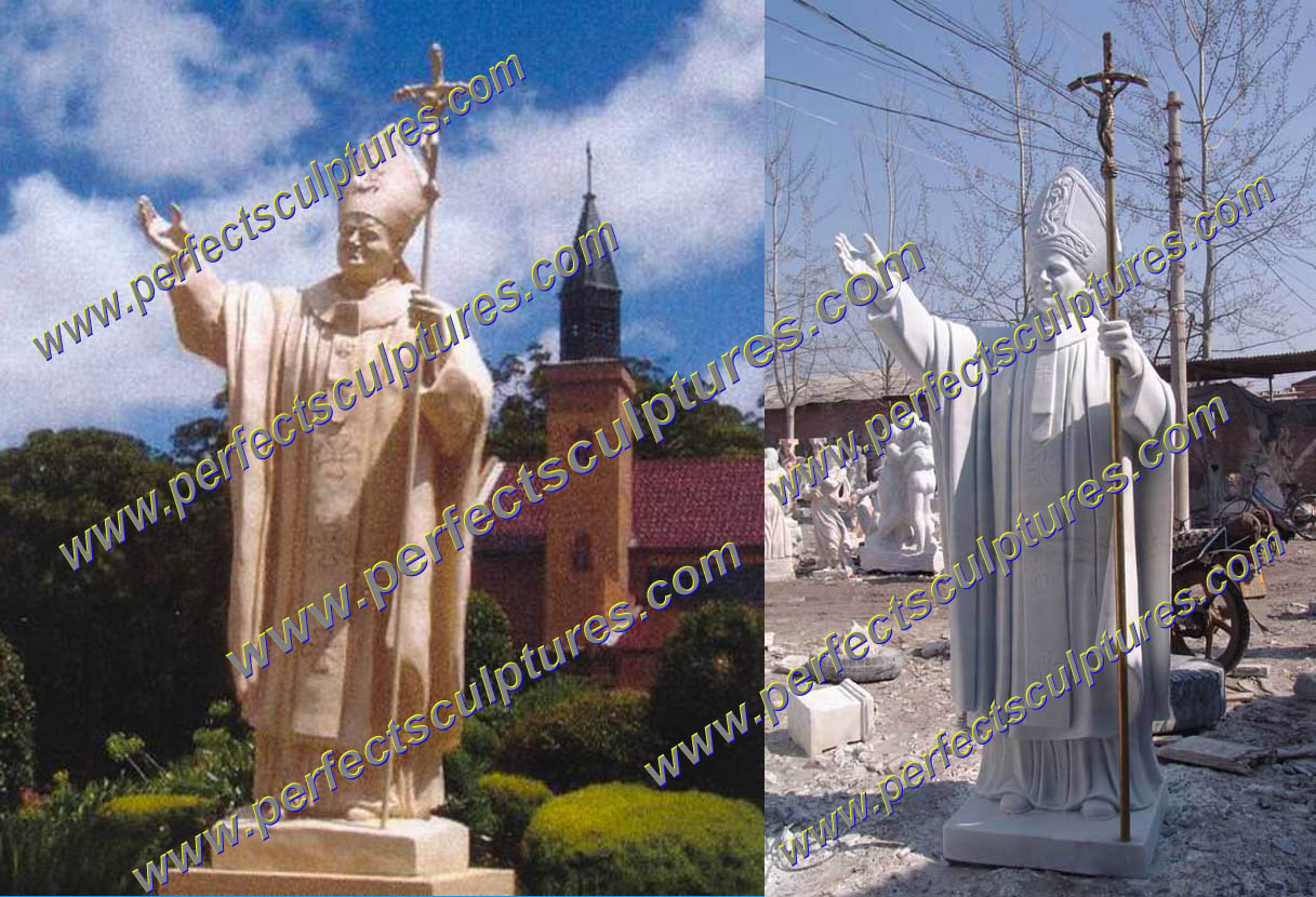 Project of John Paul II Sculpture in Poland