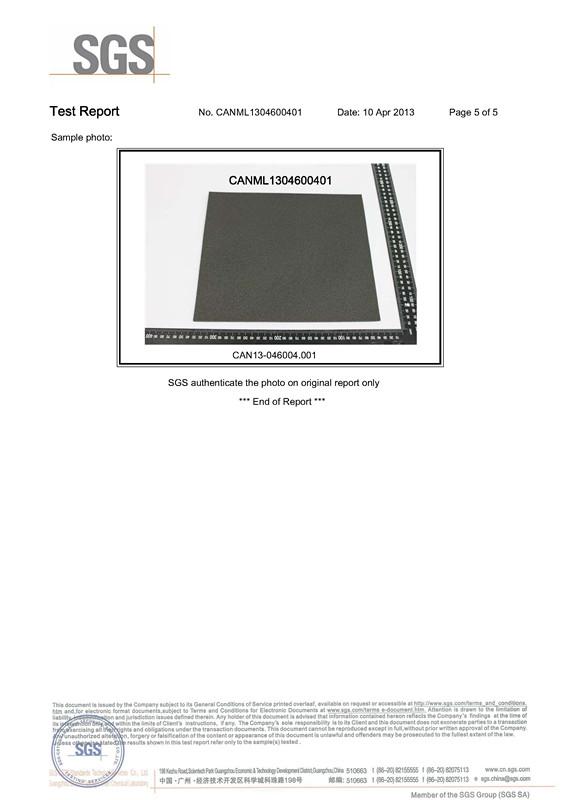 RoHs certificate 5