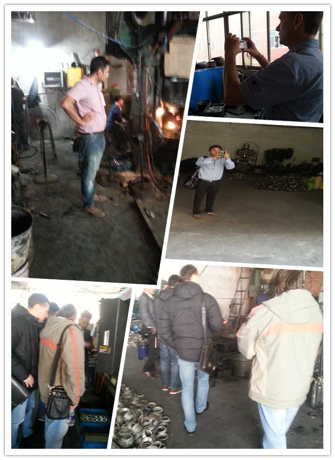 Some in The Cooperation of Customers From Different Countries Come to Visit Our Factory