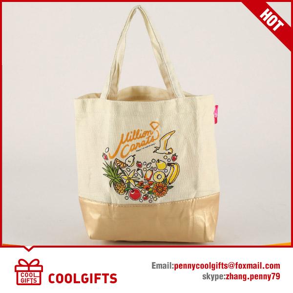 Cotton Canvas&PU bag