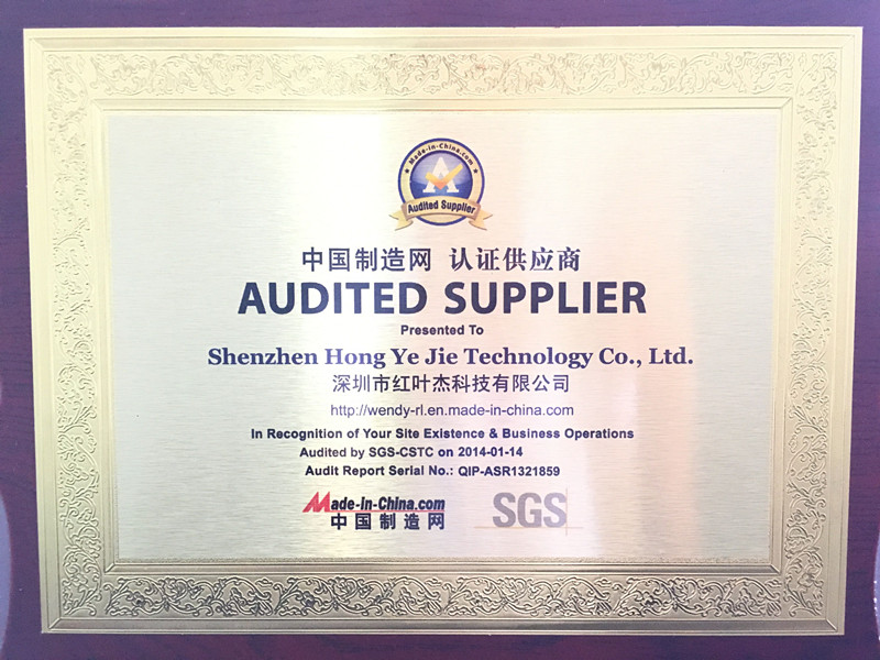 Supplier Assessment of Made-in-china