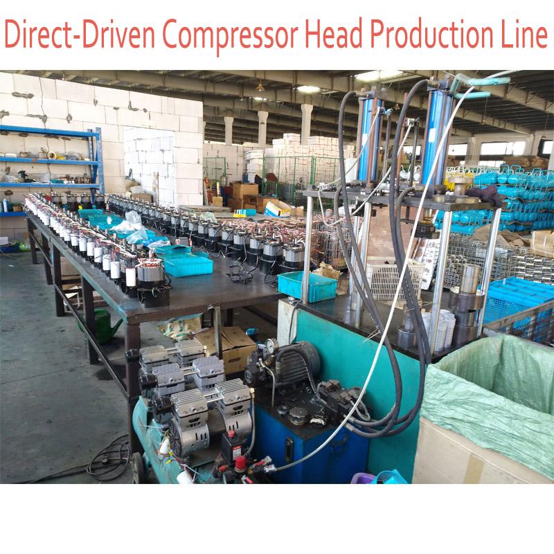 Direct Driven Air Compressor Head Production Line