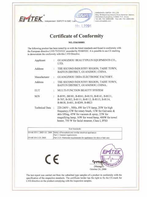 CE Certificates 01