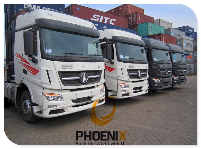 Beiben V3 Trucks To Tanzania