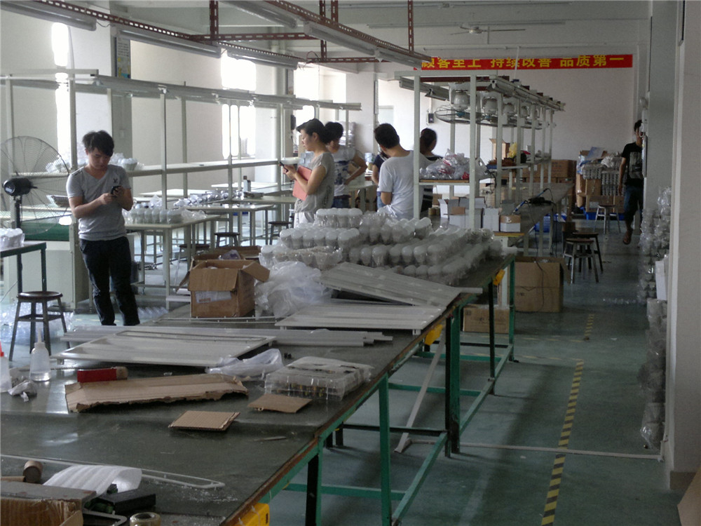 One Corner of my factory for LED Bulbs Production