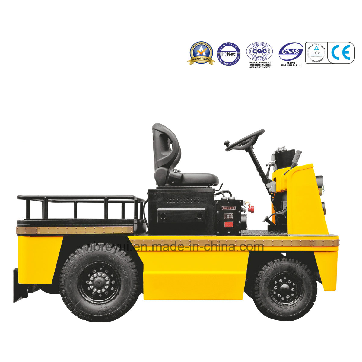 explosion-proof tractor