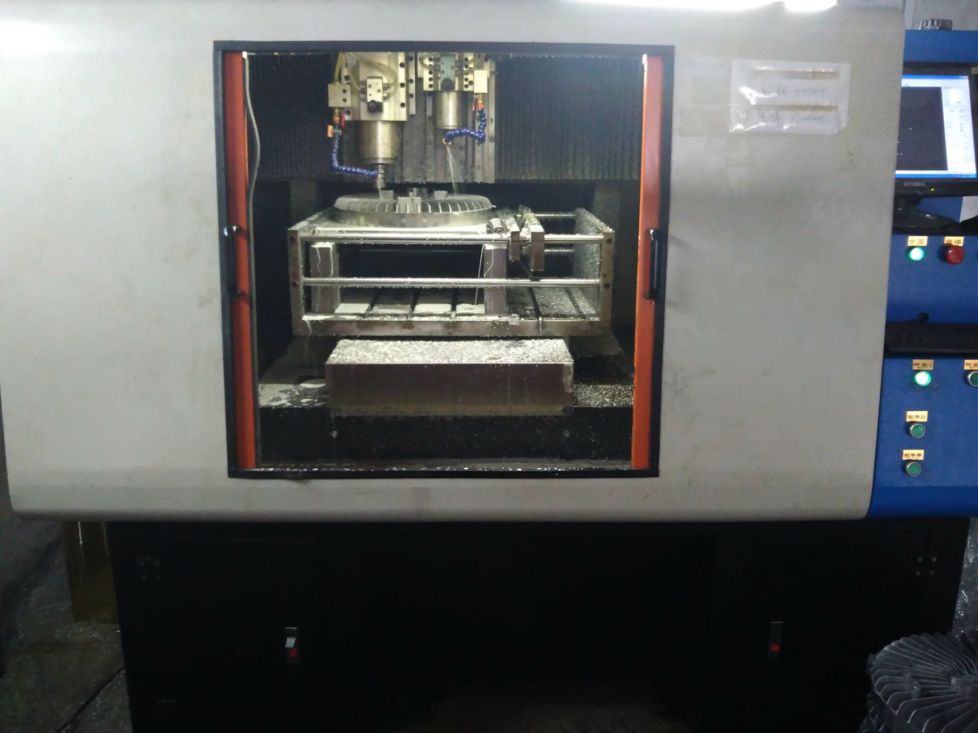 Have buy four new CNC machines( automatic drillingand tapping)