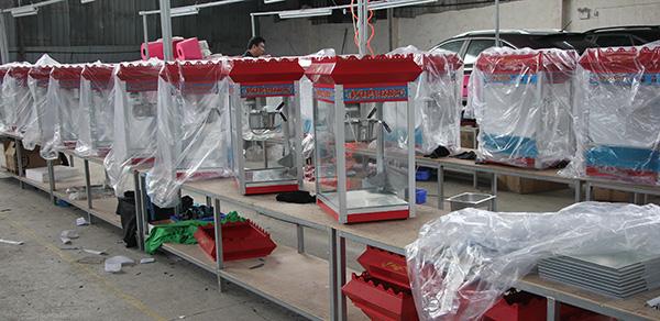 popcorn machine production line 2