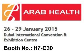 Arab Health 2015-Jusha Display invite you to visit our booth H7C30