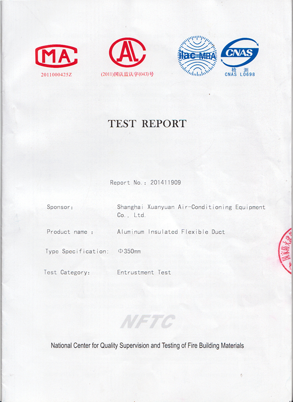 National Burning Behavior Test
