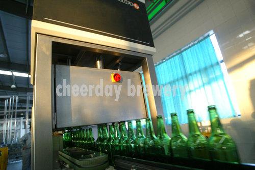 machine for check beer bottles