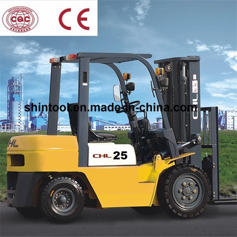 2.5 ton diesel forklift price with Isuzu Engine