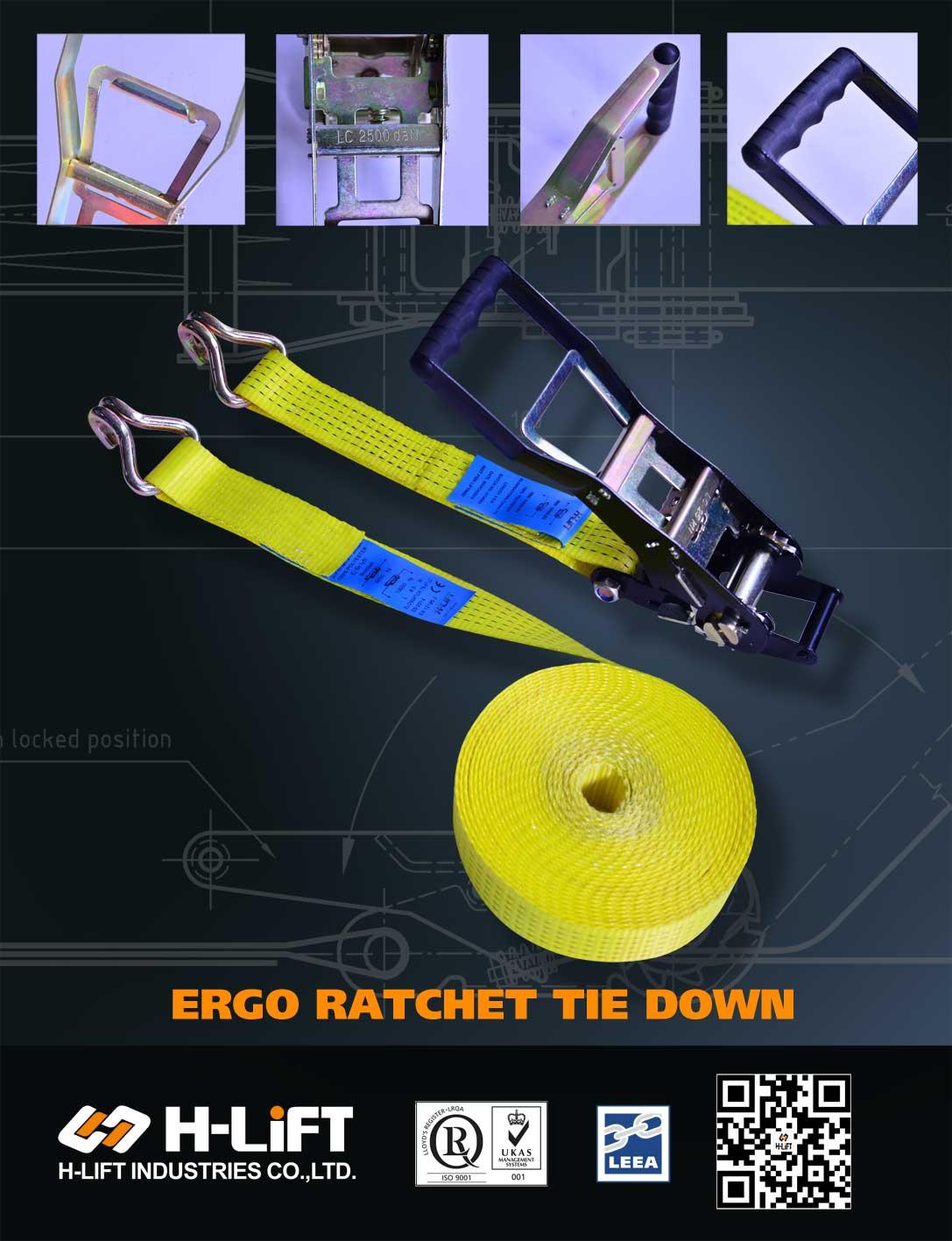 Newly Develped Ergo Ratchet Tie down