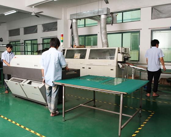 foxgolden led display factory department