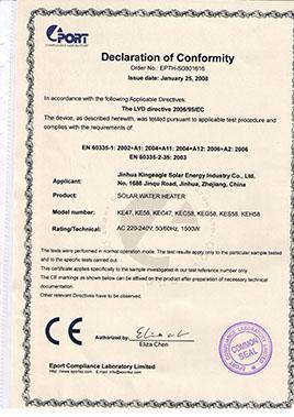 CE certifcation