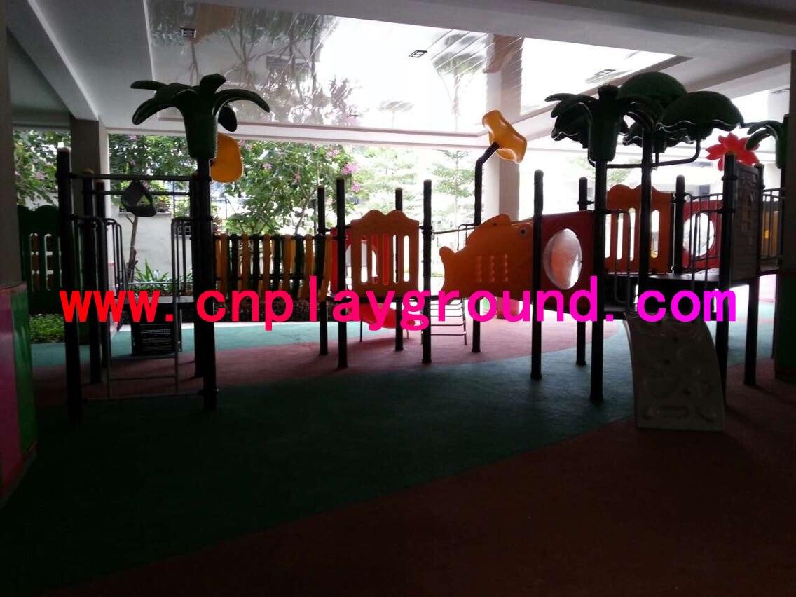 playground equipment project for school children playground and playground mat