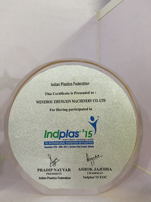 Indian plastics federation Indolas'15 EOC