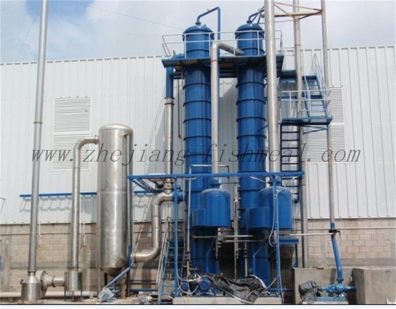 evaporator for fishmeal plant line