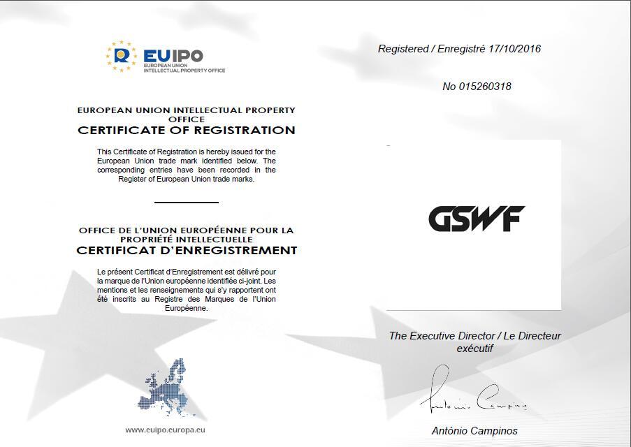 GSWF brand