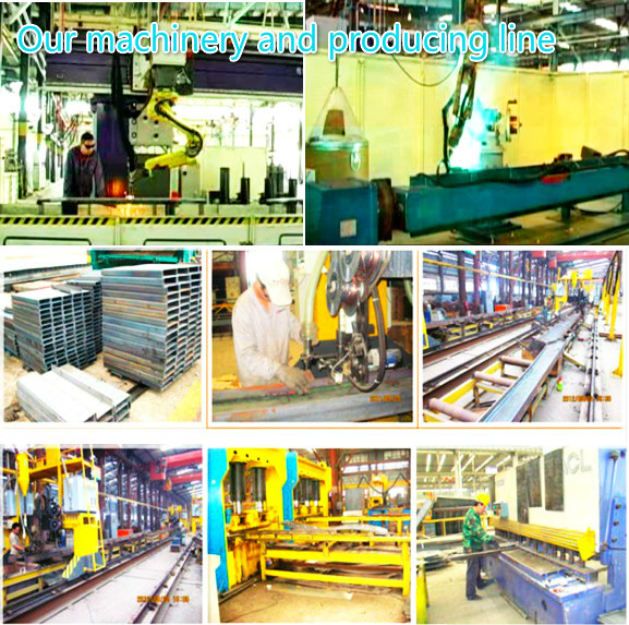 Our machinery and producing line
