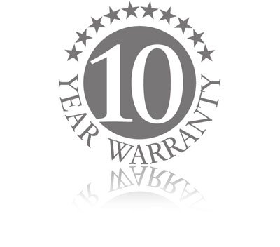 10 YEARS MANUFACTURERS WARRANTY