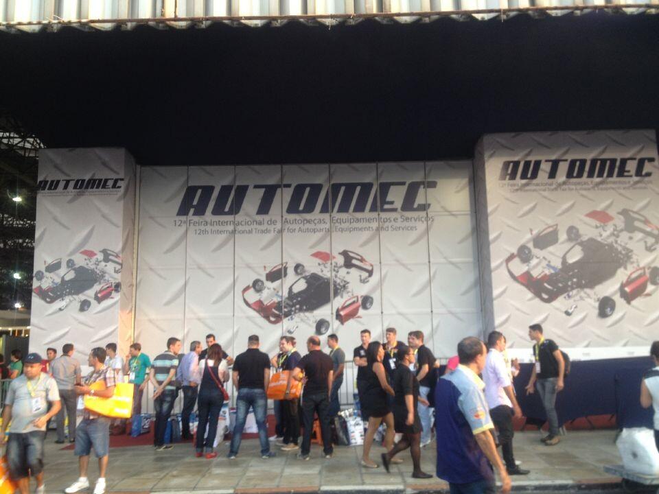Automec 2015 Brazil (Booth No.: I I 940)