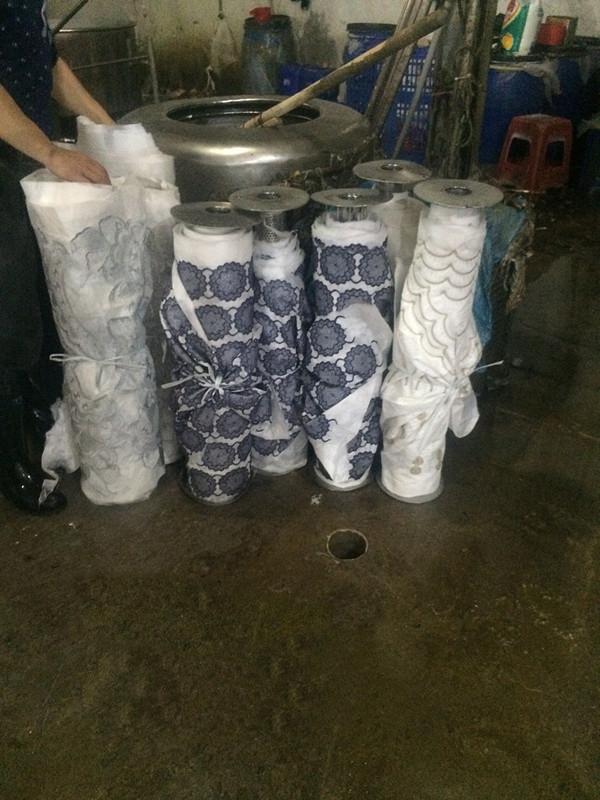 Lace production workshop 4